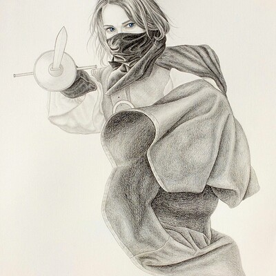Juraj mlcoch drawing 39 juraj mlcoch fencing3