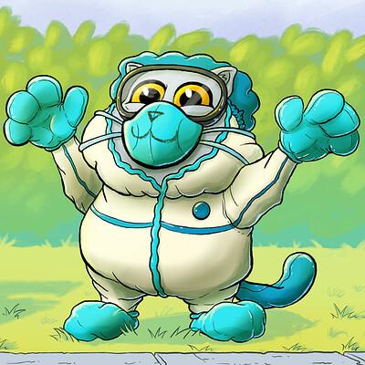 Josh kenfield quarantine cat jkenfield