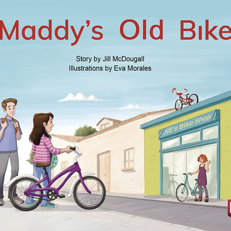 """Maddy's Old Bike"" by ©Nelson Cengage Learning"
