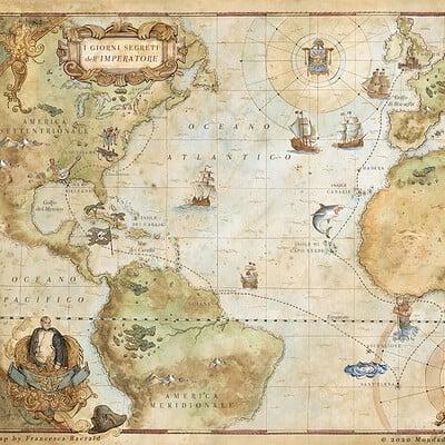 Francesca baerald fbaerald giornisegretiimperatore mappa