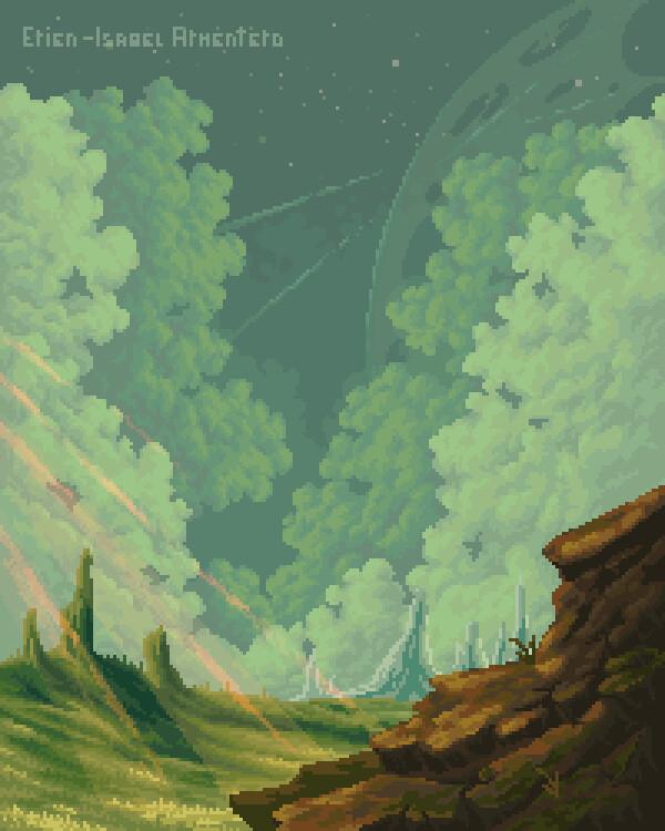 Pixel illustration #24