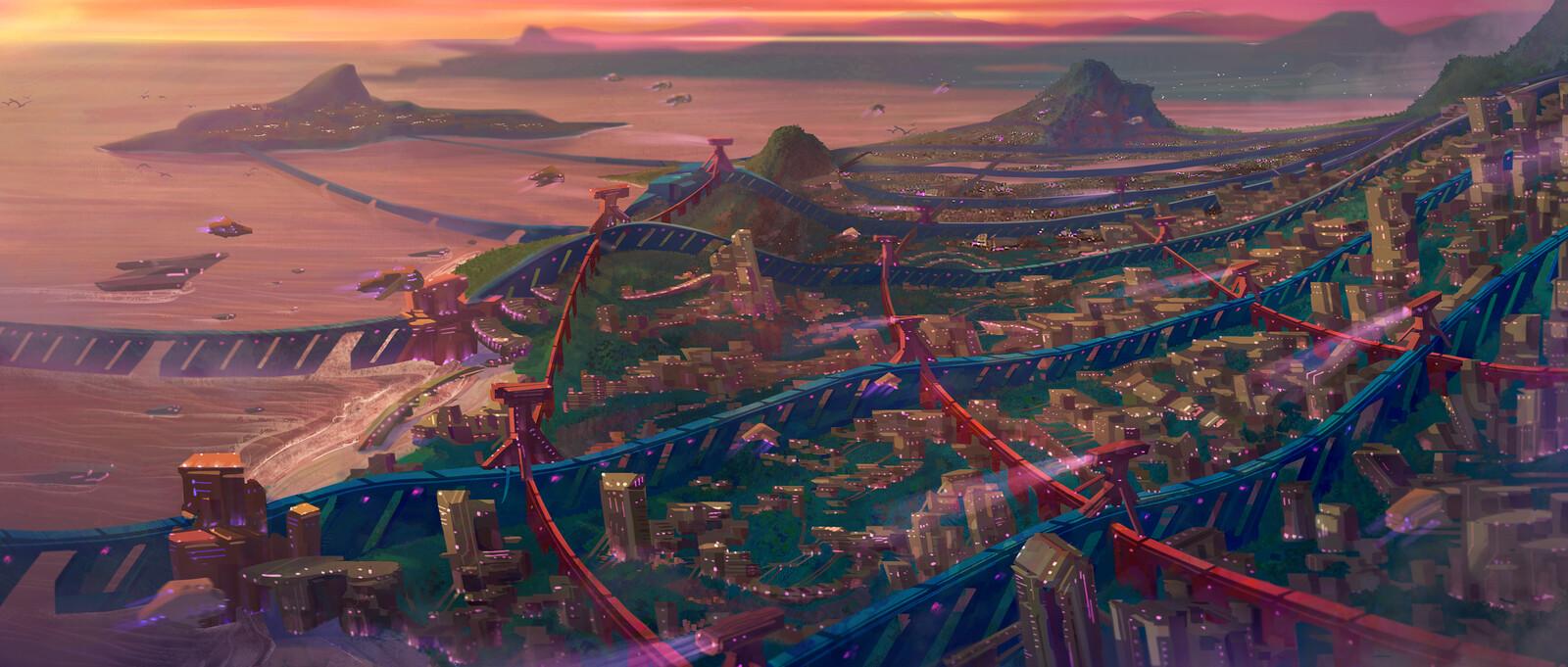 Industrial Sprawl