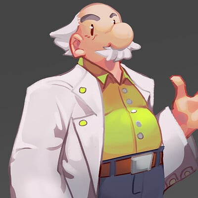 The Professor Redesign - Ape Escape Fan Project
