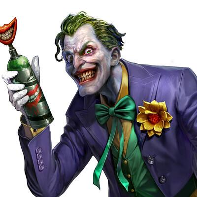 Kyoungmin park kiyocat character joker