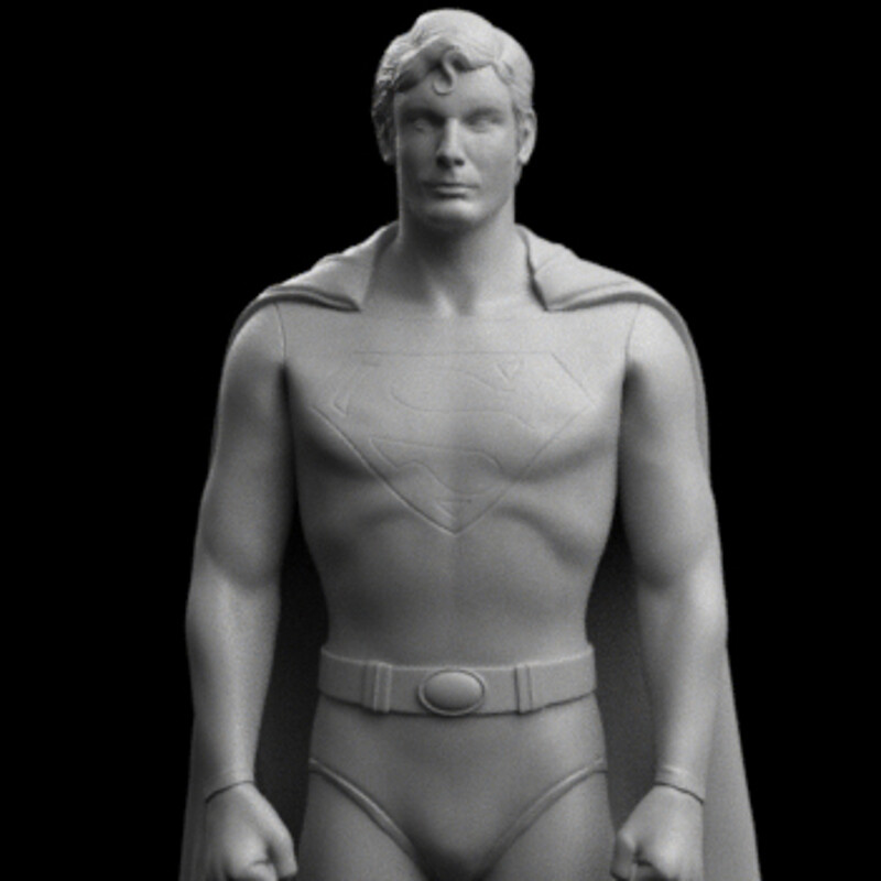 Christopher Reeve - Superman 1:18 figure