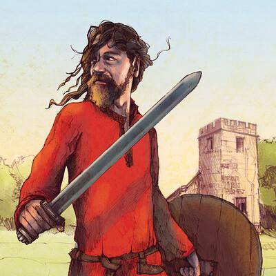 Anthony greentree saxon warrior class colour