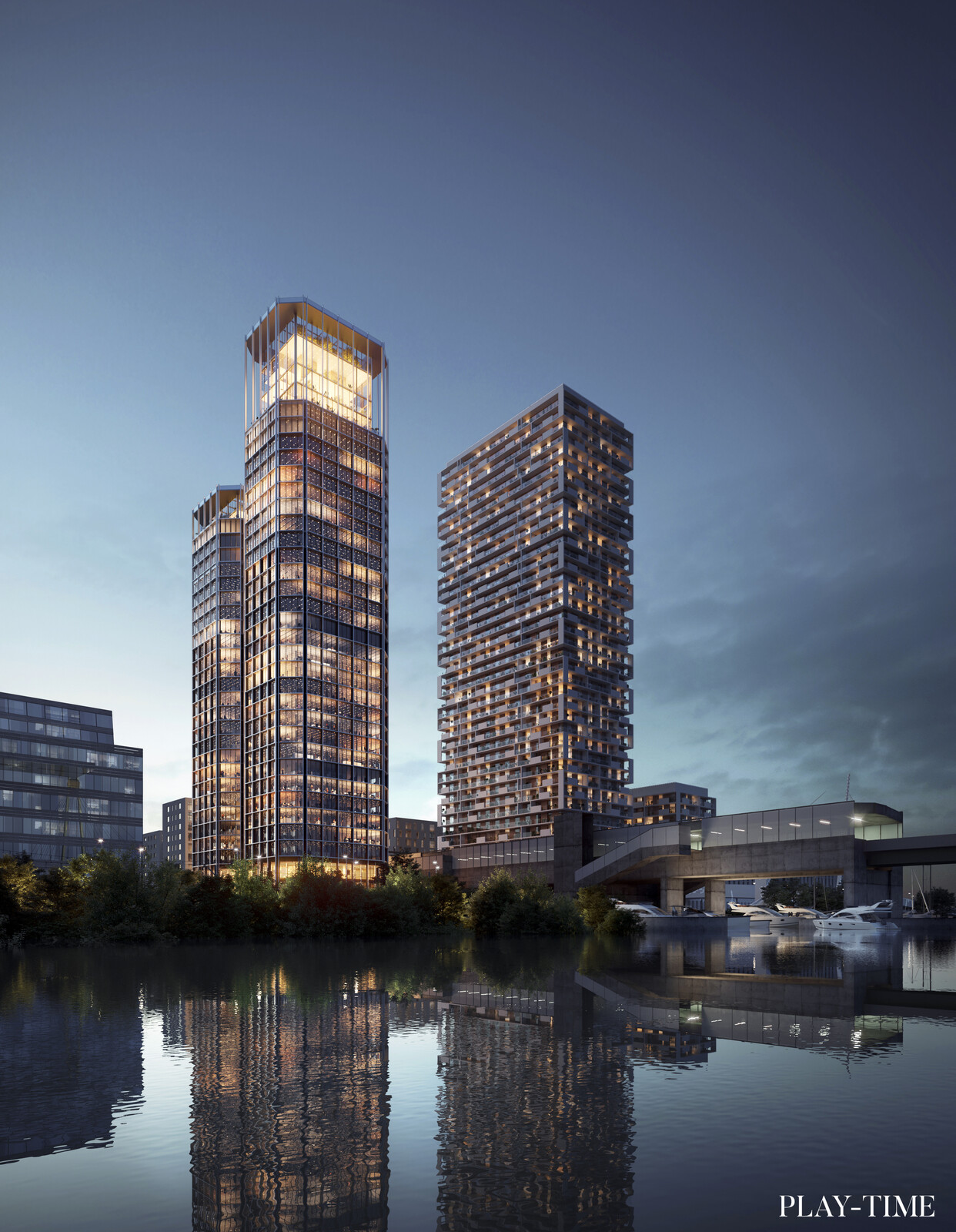 Office building in Vienna designed by OAB