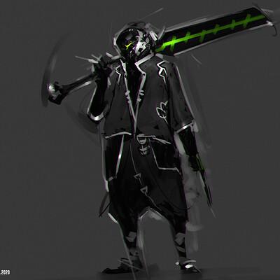 Benedick bana cyberpunk ninja alt