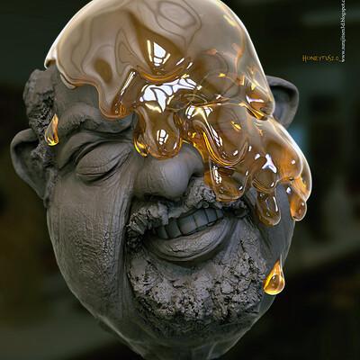 Surajit sen honeytus2 0 digital sculpture surajitsen jul2020aa