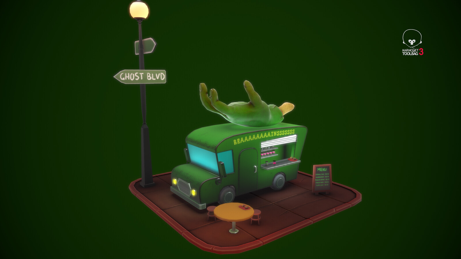 Zombie Food Truck V2.0