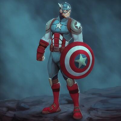 Arjun somasekharan captain america 1