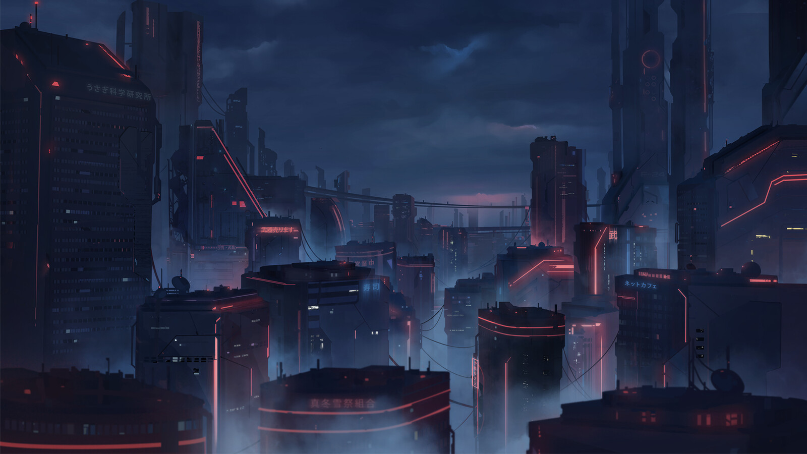 Matte Painting I did after some explorations and rounds