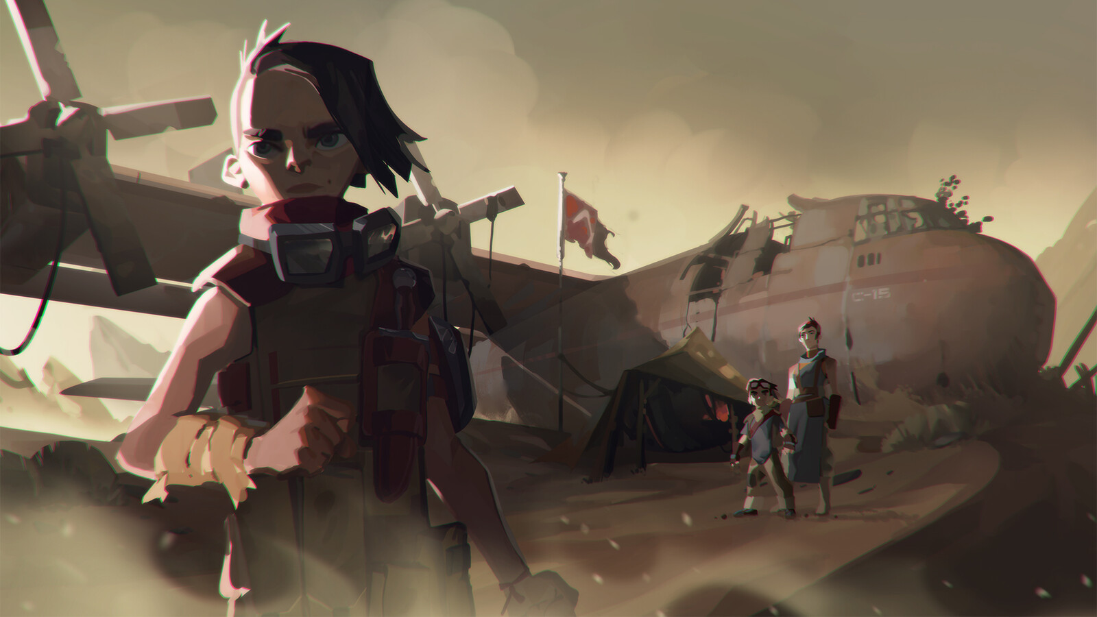 Final concept I art directed and painted together with Pedro Kruger