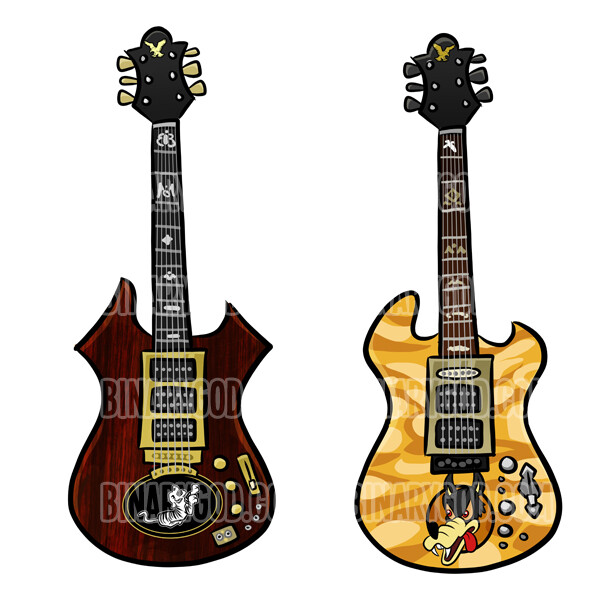 Jerry's guitars