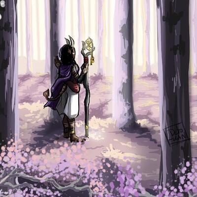Detonya kan violet forest
