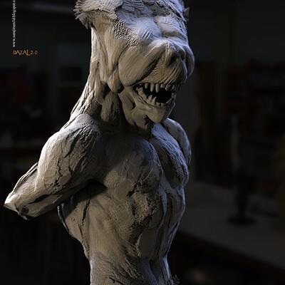 Surajit sen dazal 2 0 digital sculpture surajitsen jul2020a