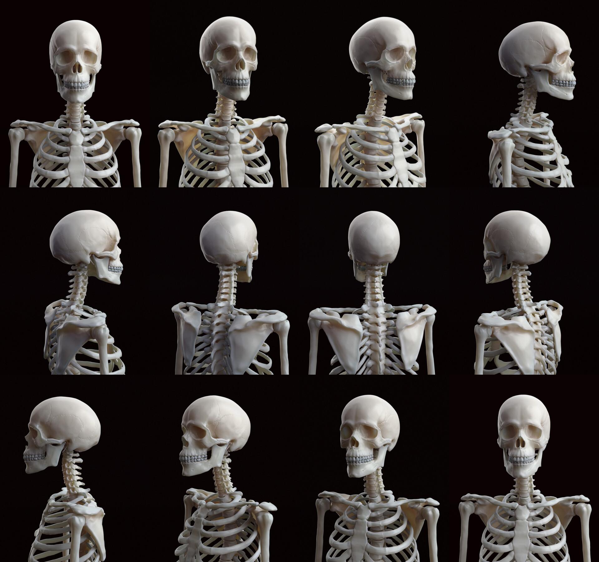 Skeleton turntable