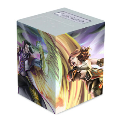 Example  image on card deck box