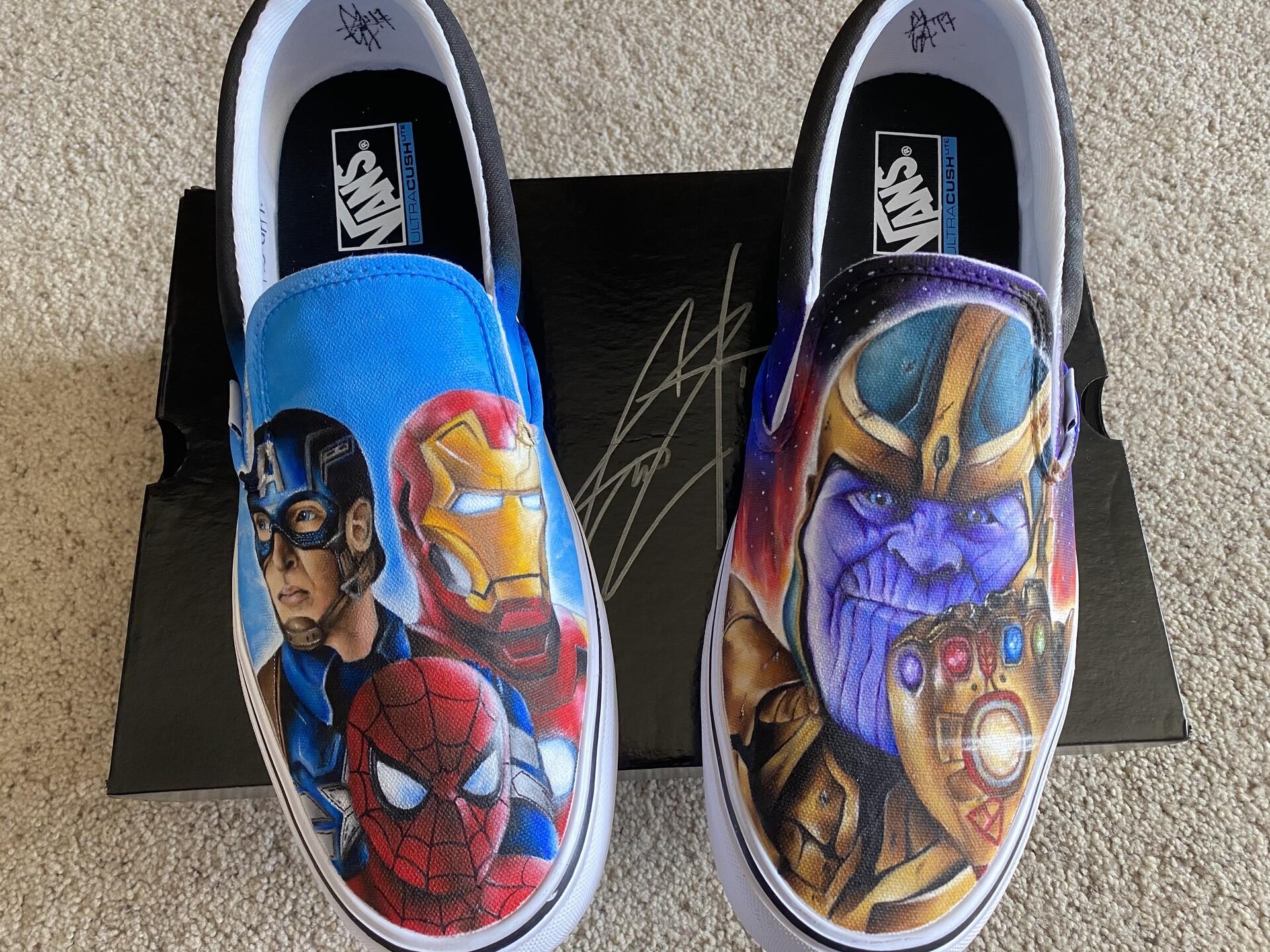 ArtStation - Marvel Custom Shoes (2017