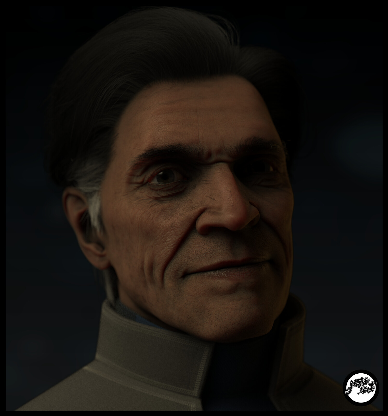 Bust #29: The Commander