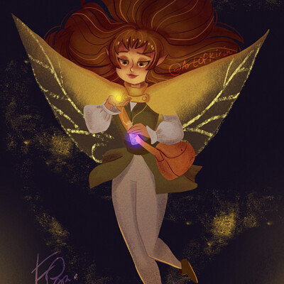 Kirin art fairy