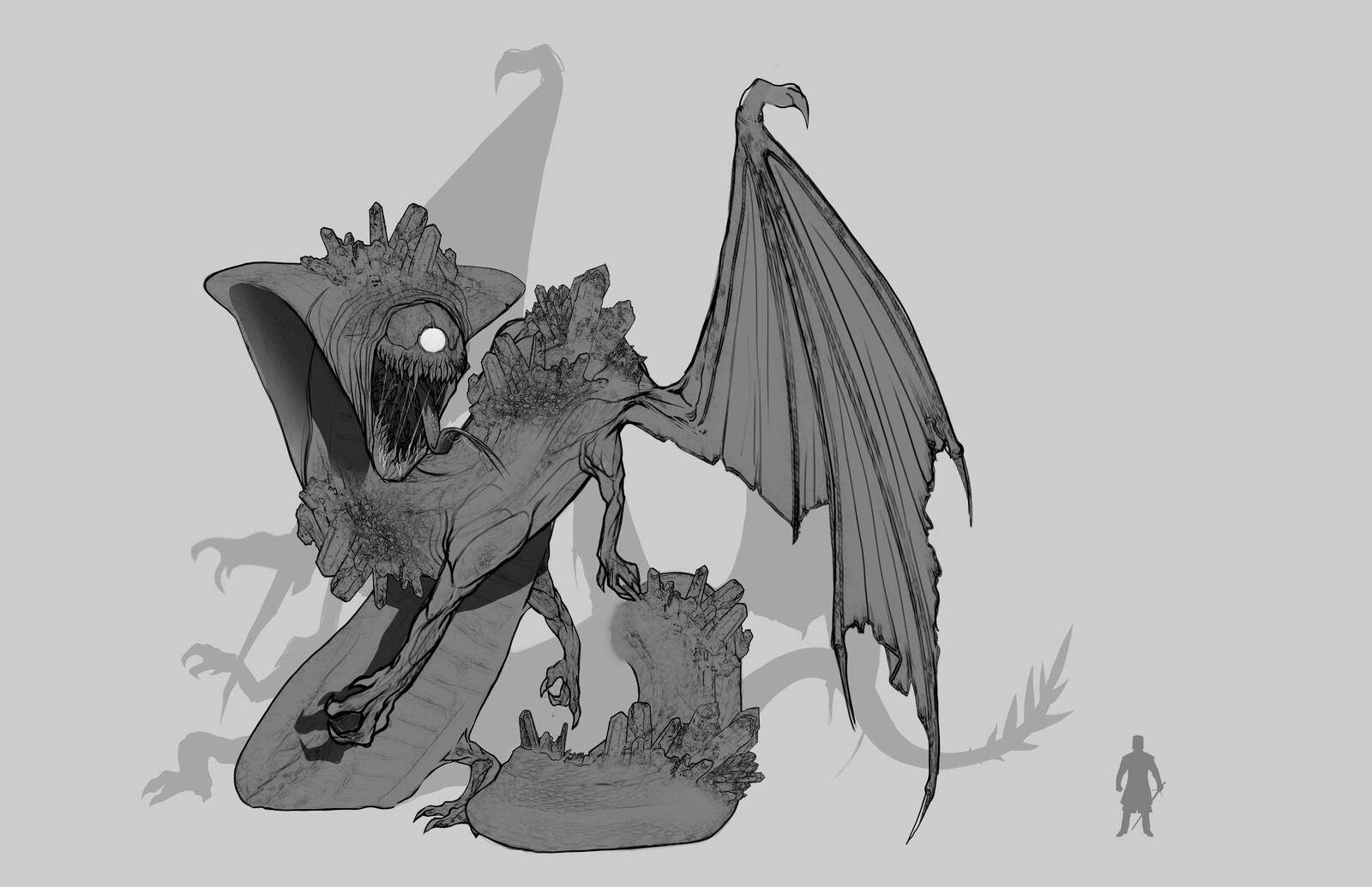Creature Concepts for 'The Crystal Corruption'