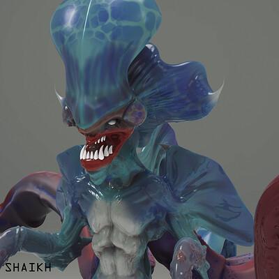 Saif shaikh aquatic creature 6