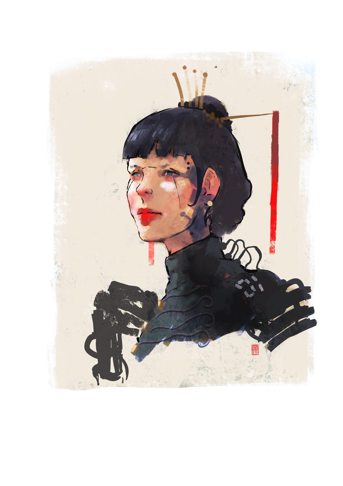 House Raven Madam//01