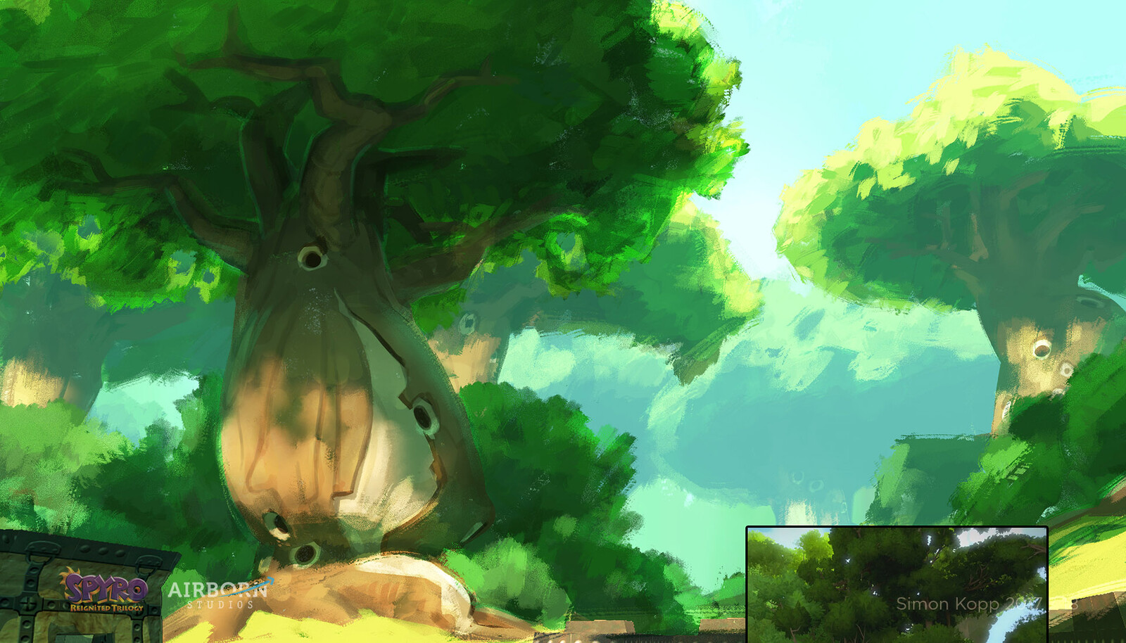background overpaint