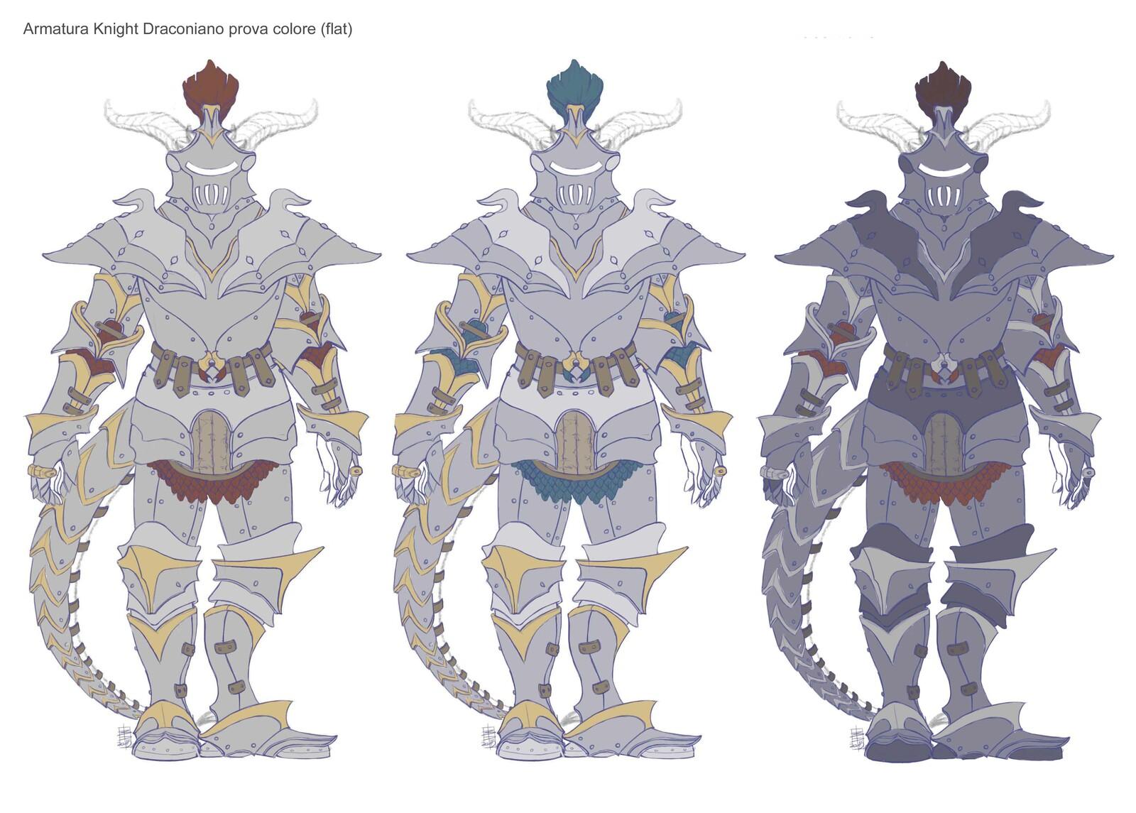 Draconic armor Color Scheme