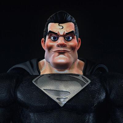 Christiano pires superman black suit2