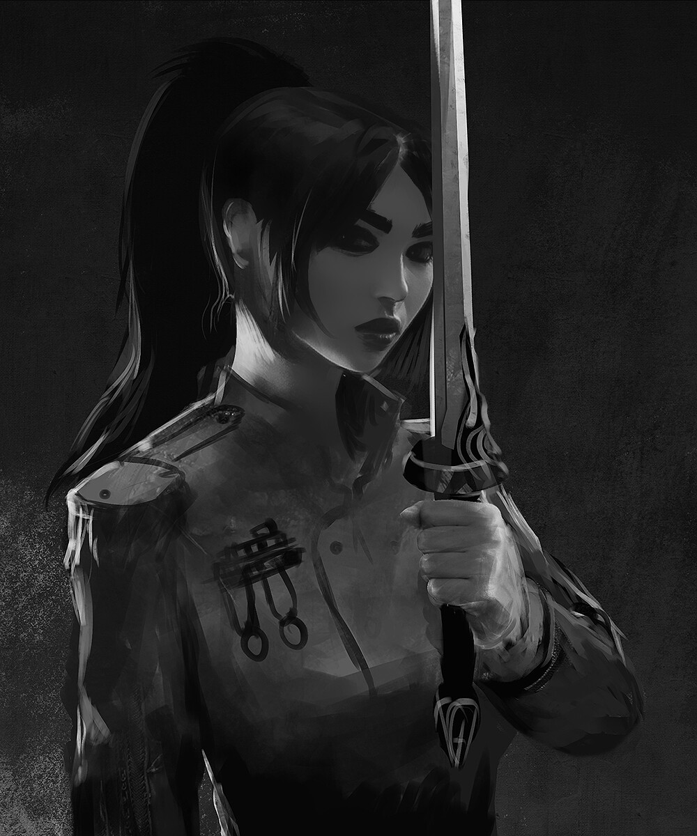 Grayscale Sketch