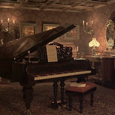 Quirell veronica piano casa de munecas 1920 x1080