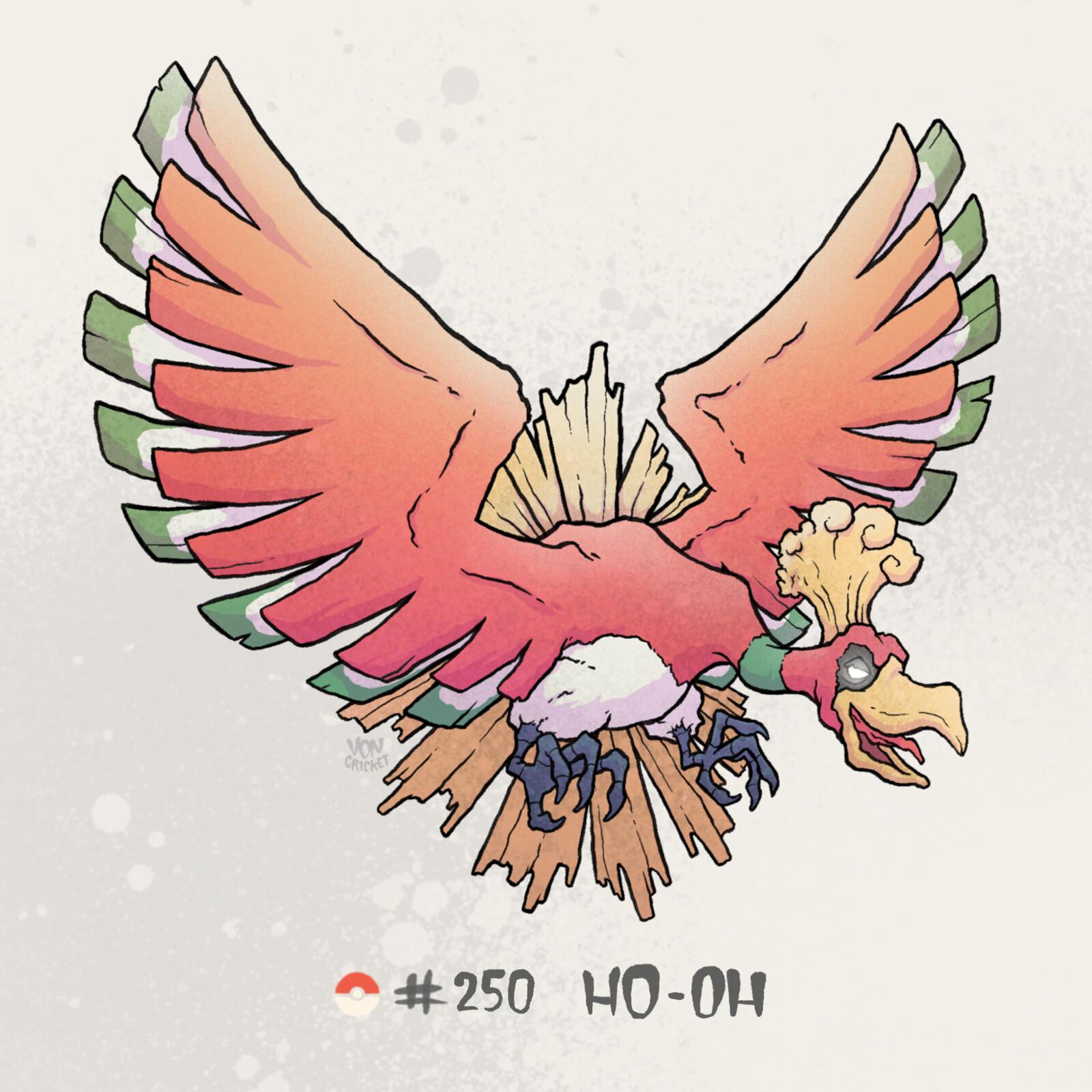 #250 Ho-Oh