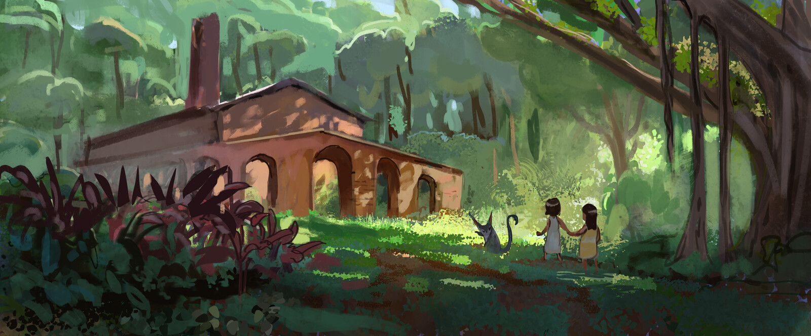 Rainforest Ruins