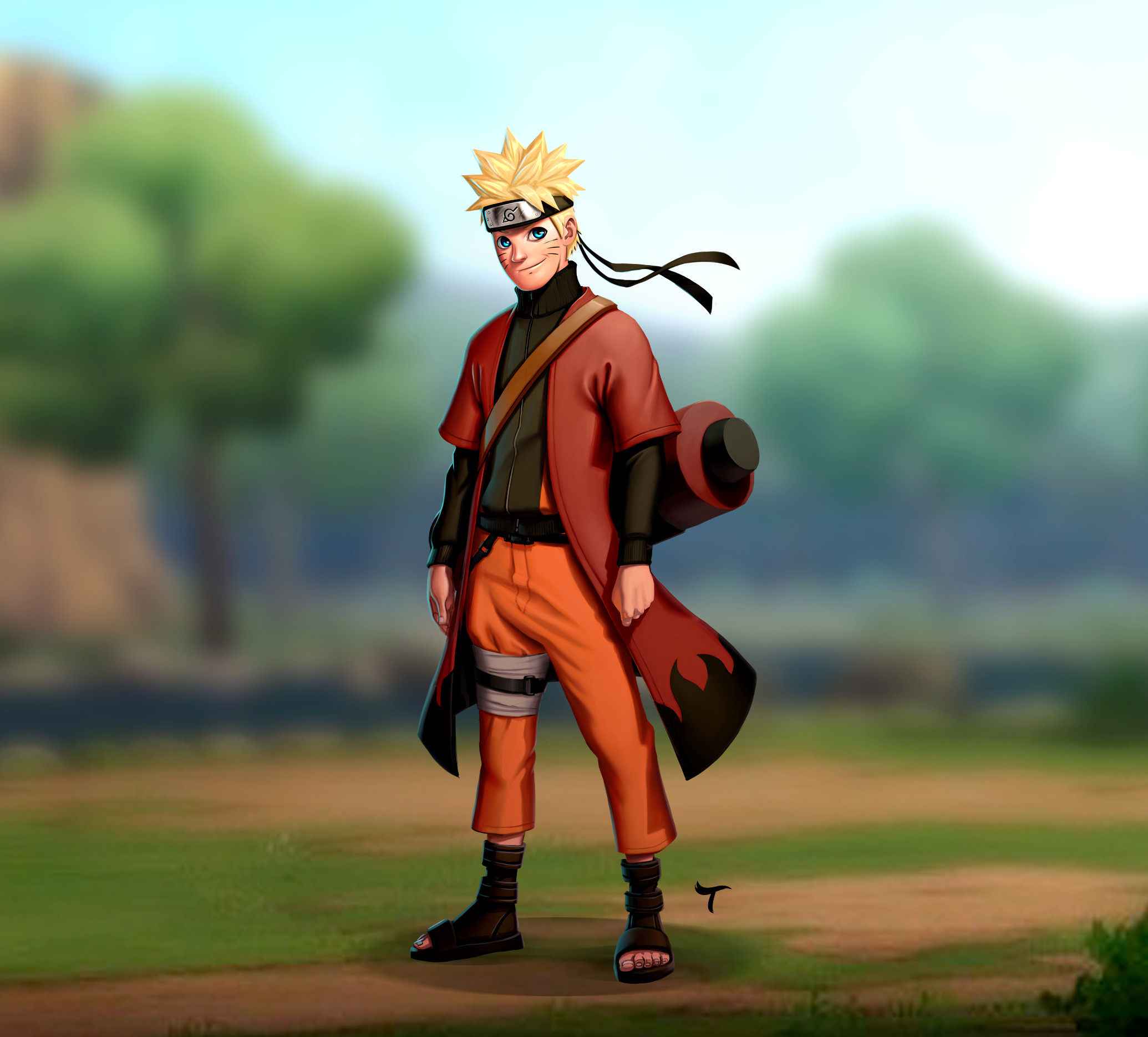 Naruto - Cartoon Realistic