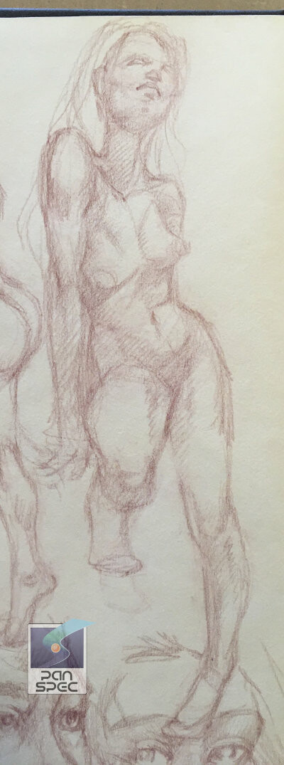 Original Sketch, done as a random nude.