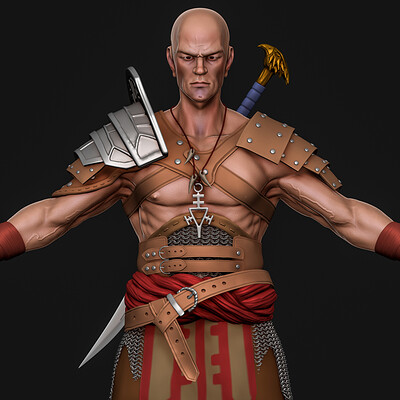 Midhun raj character modelin