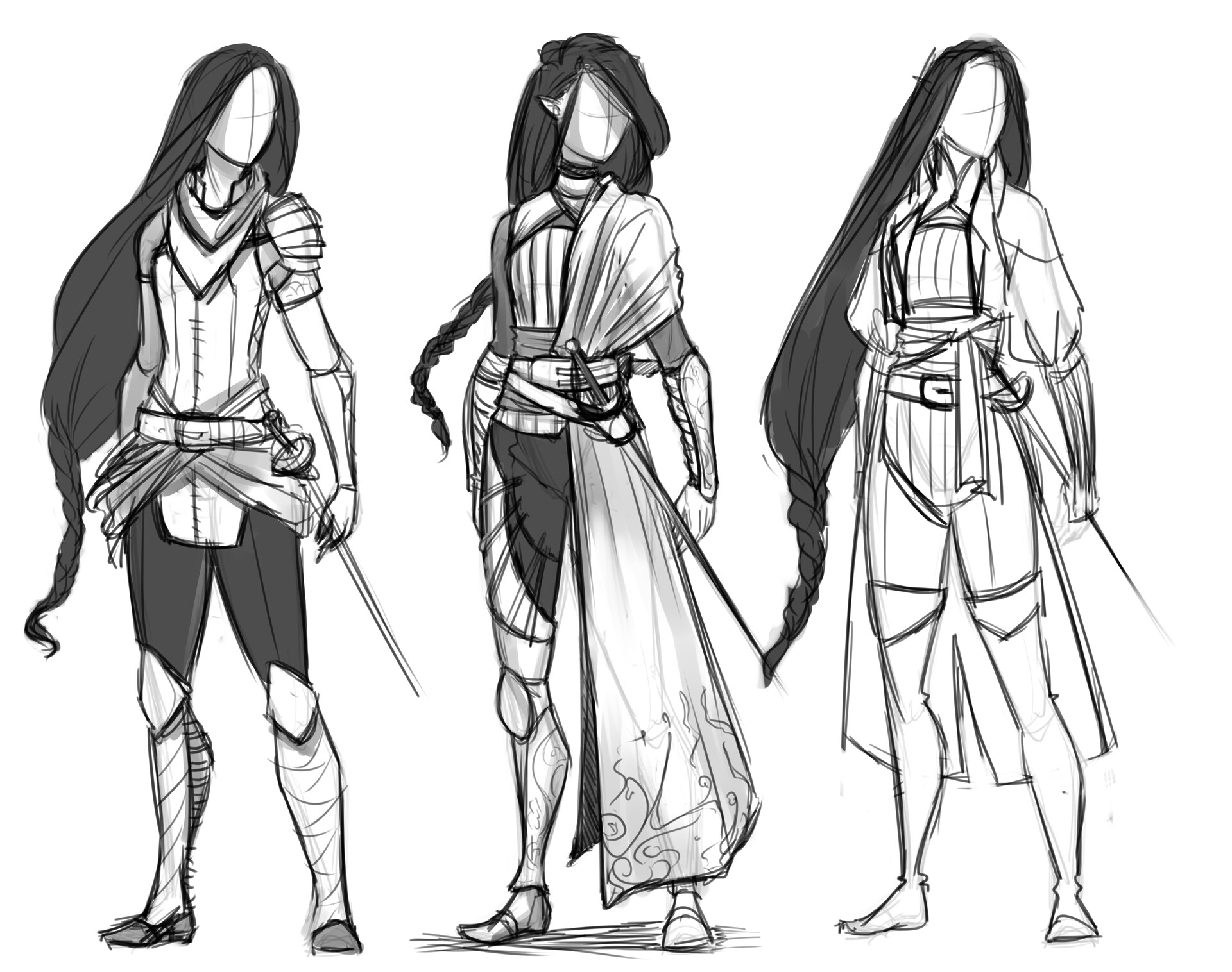 very early design iterations