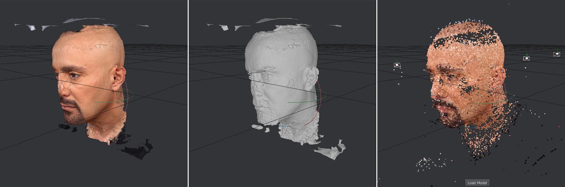 Photogrammetry result