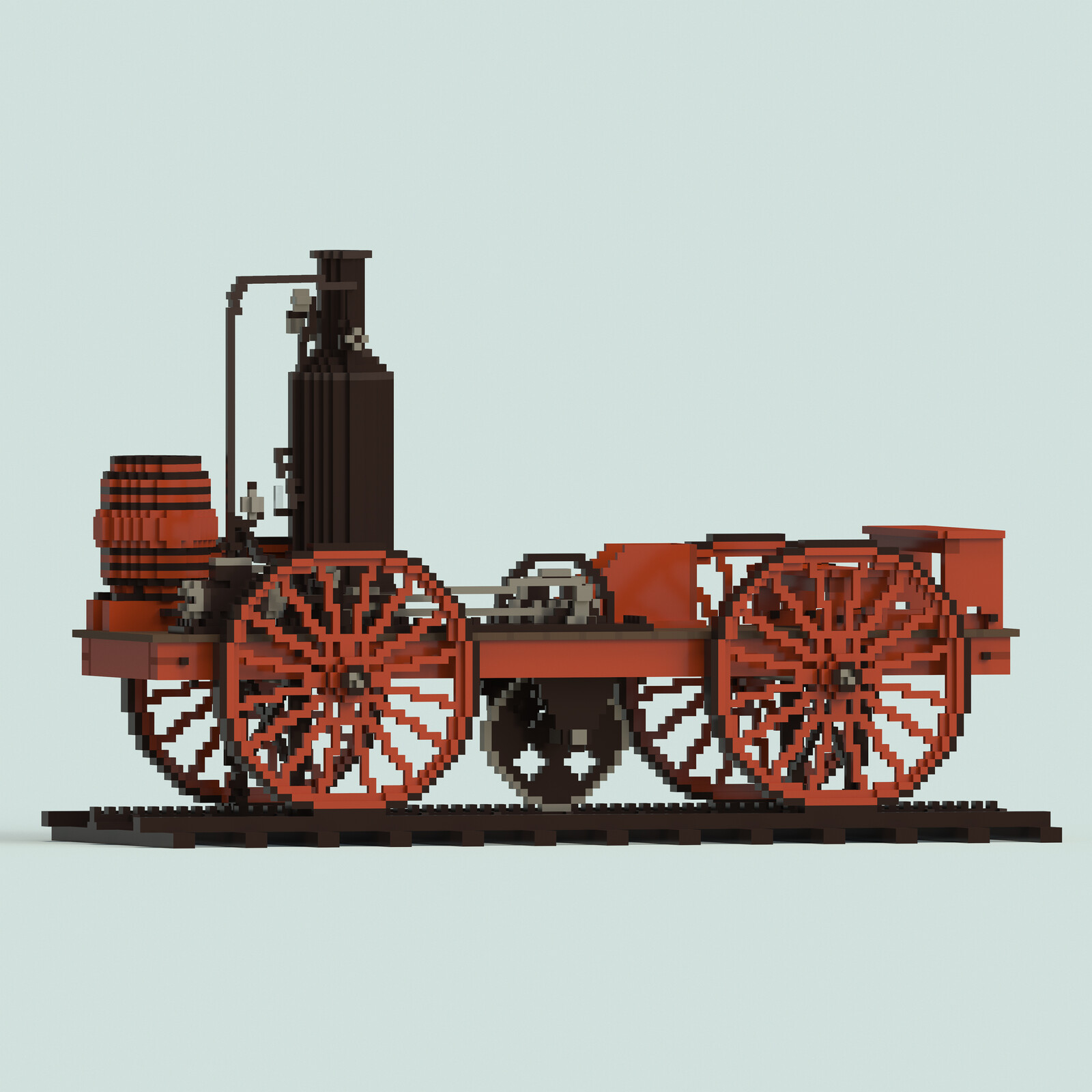 John Stevens Steam Locomotive (1825)
