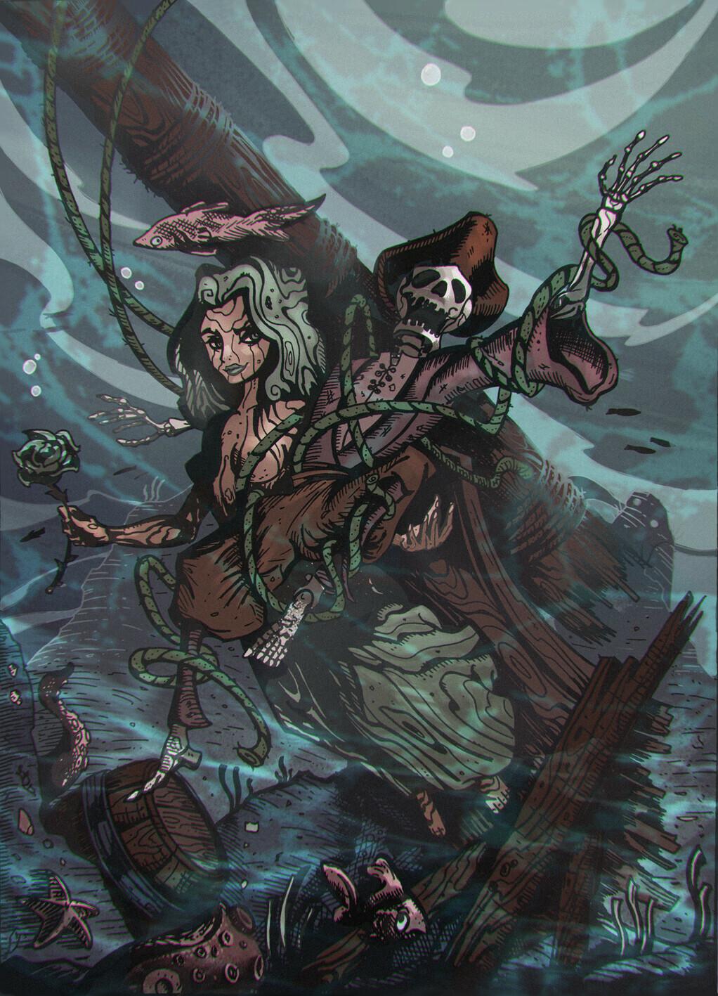 Capt Spooky and Rosepike