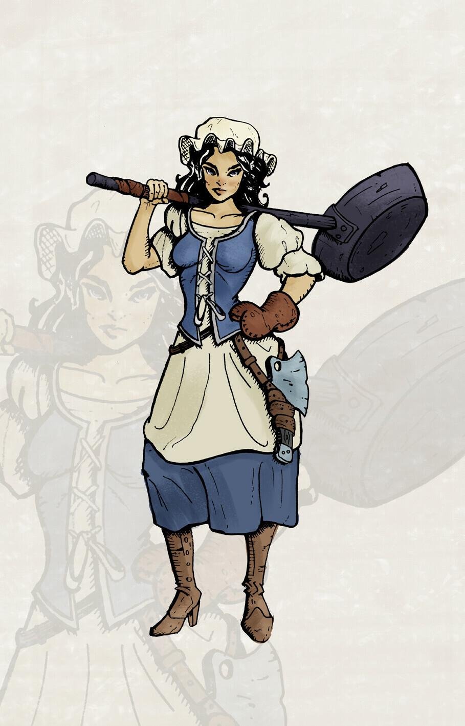 Teresanna from Tauringa