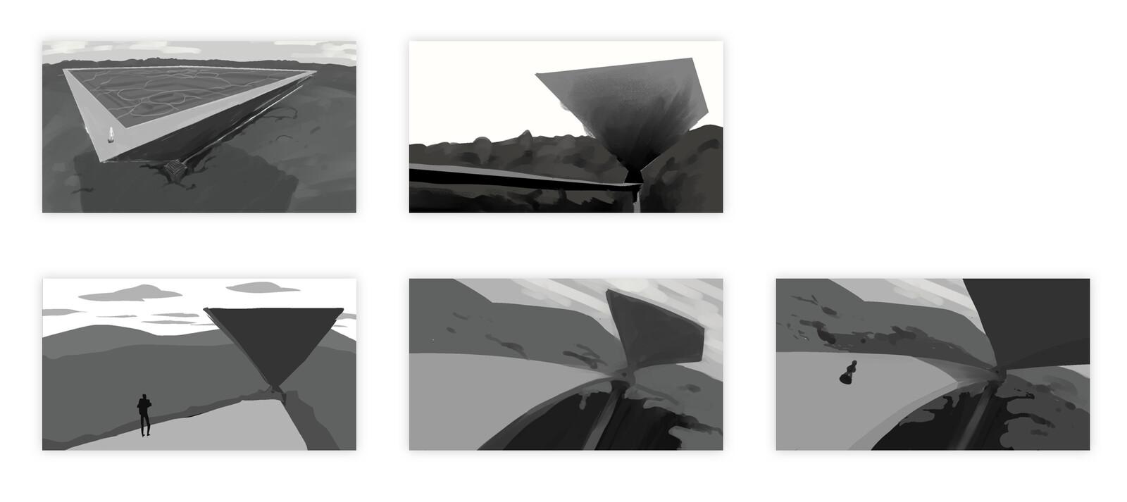 Thumbnails for tone exploration