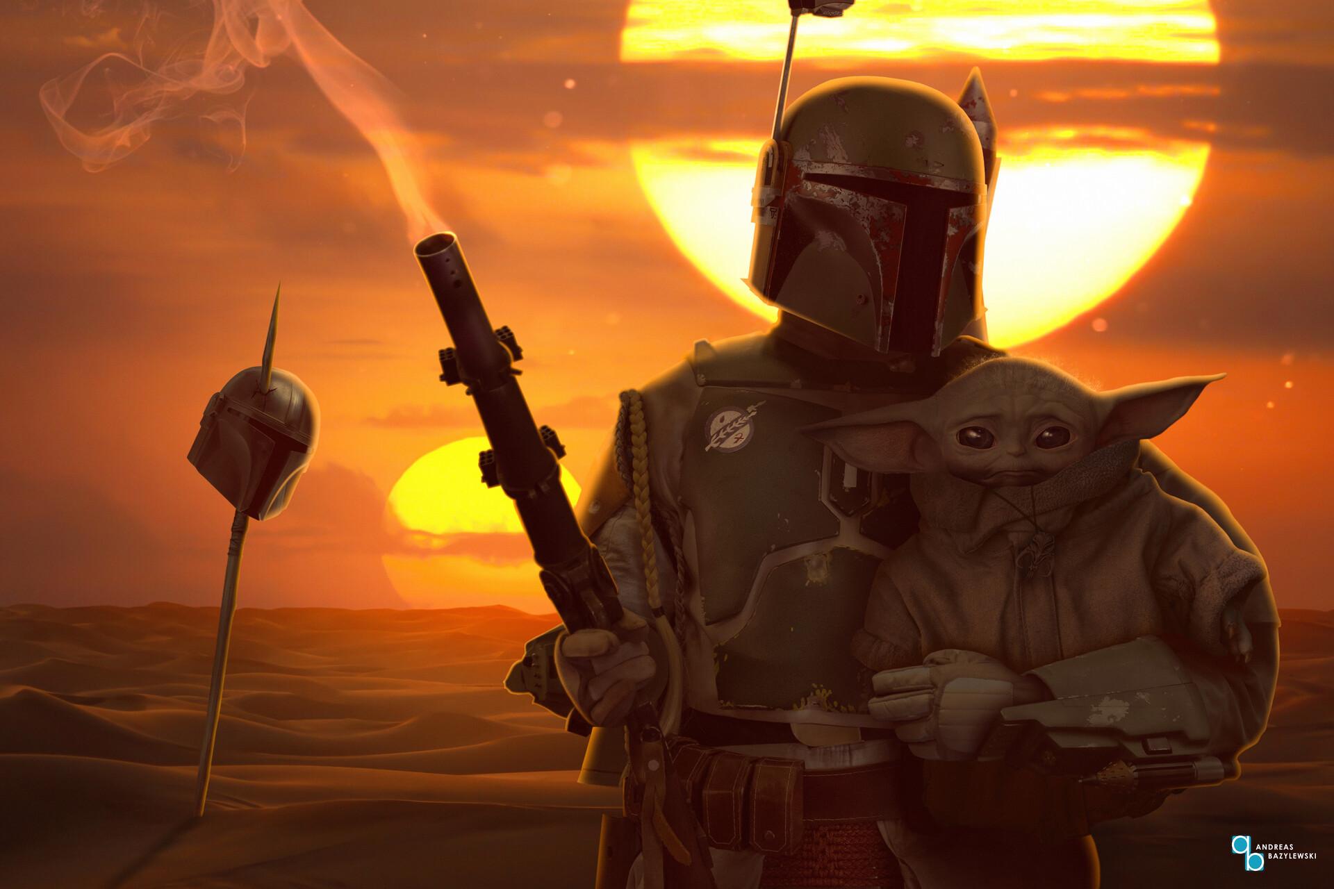ArtStation - Star Wars: The Mandalorian - Boba Fett's return, Andreas Bazylewski