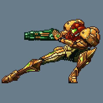 Samus Varia Suit (Metroid Prime)