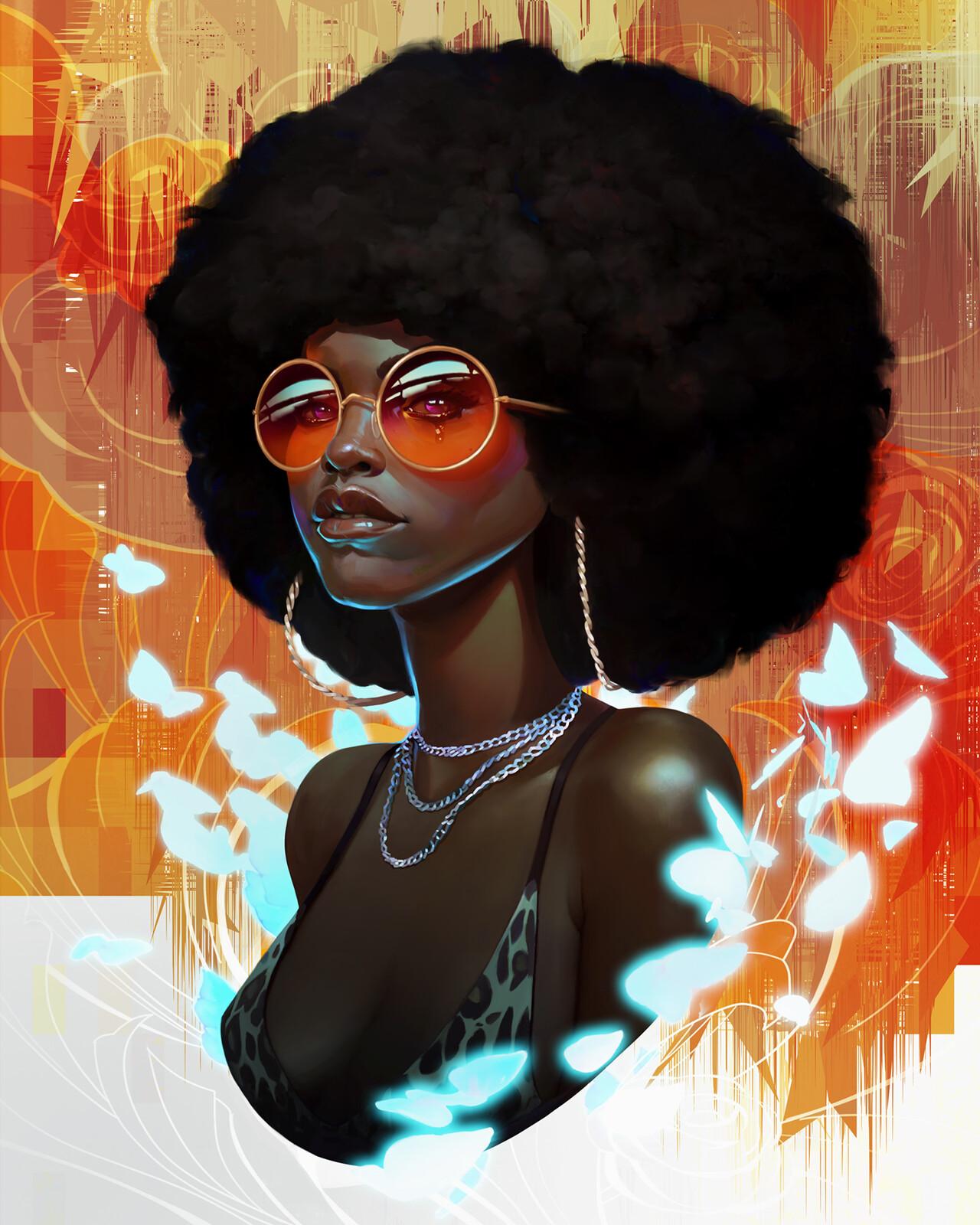 BLM fundraiser // Quisha Funk