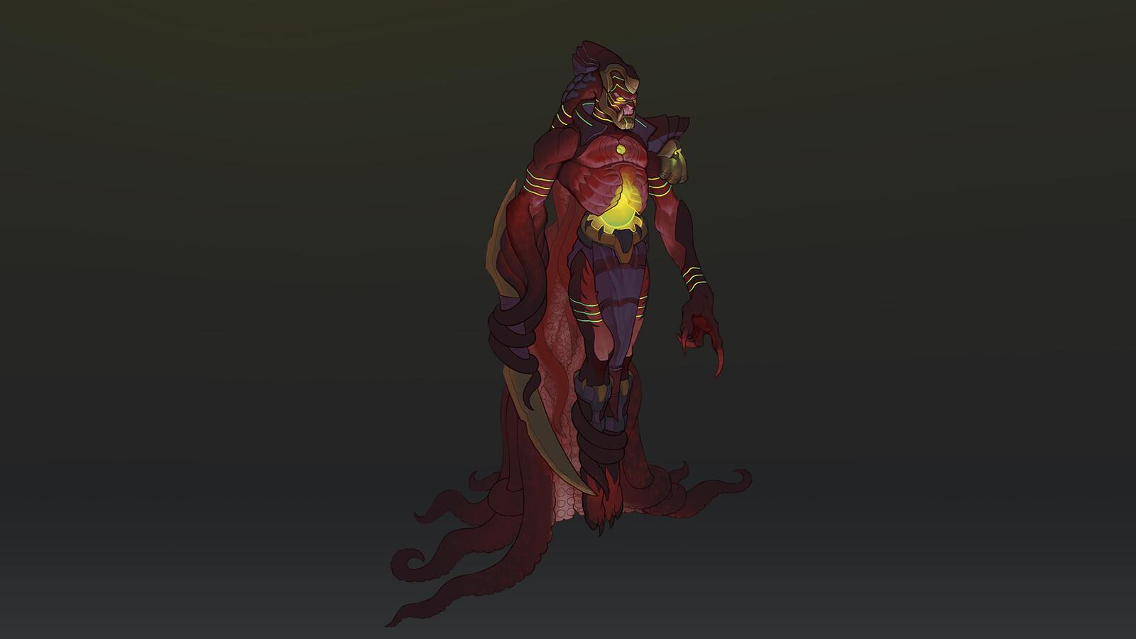 Rogue Octopus Concept Art