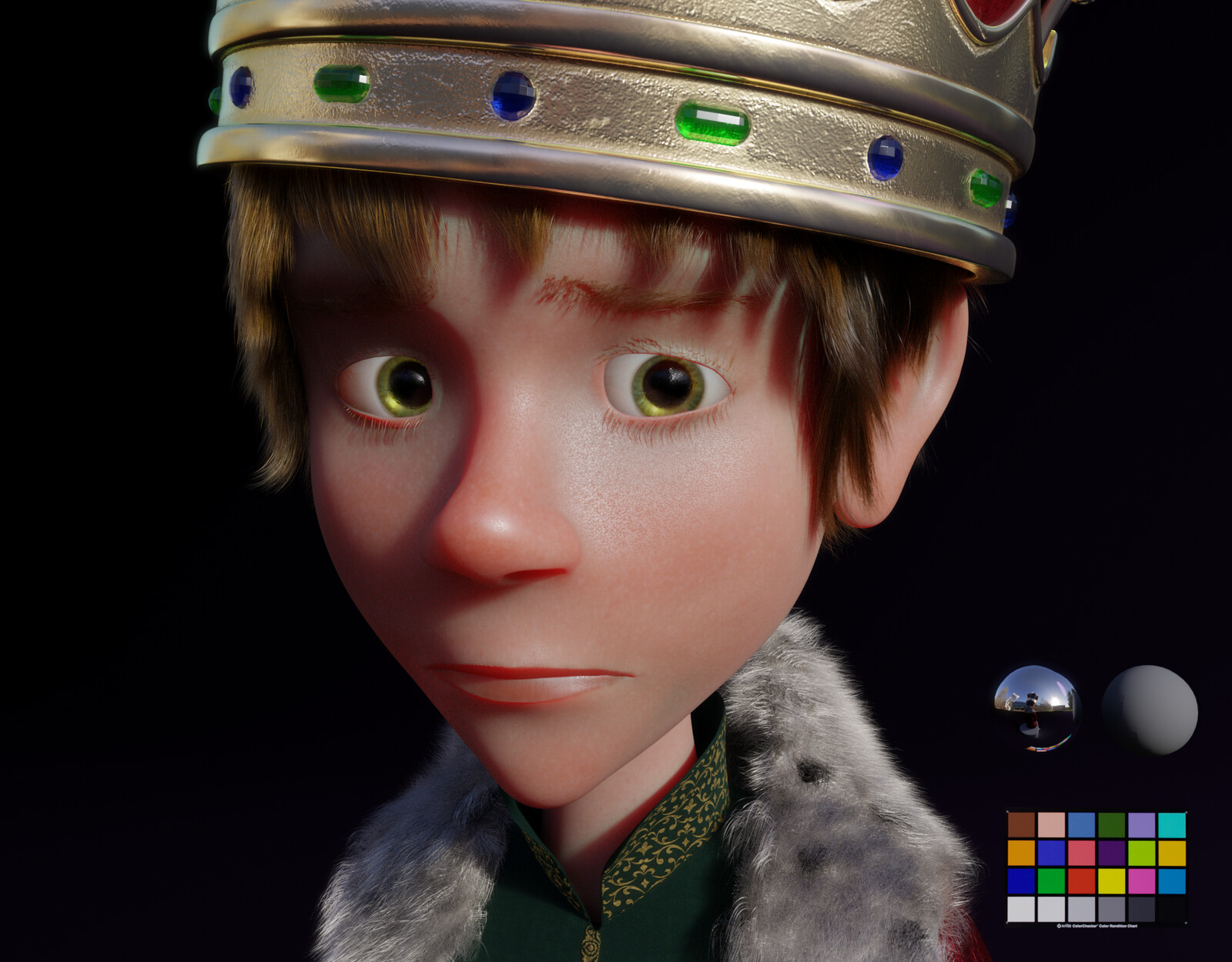 Close-Up Arthur Face