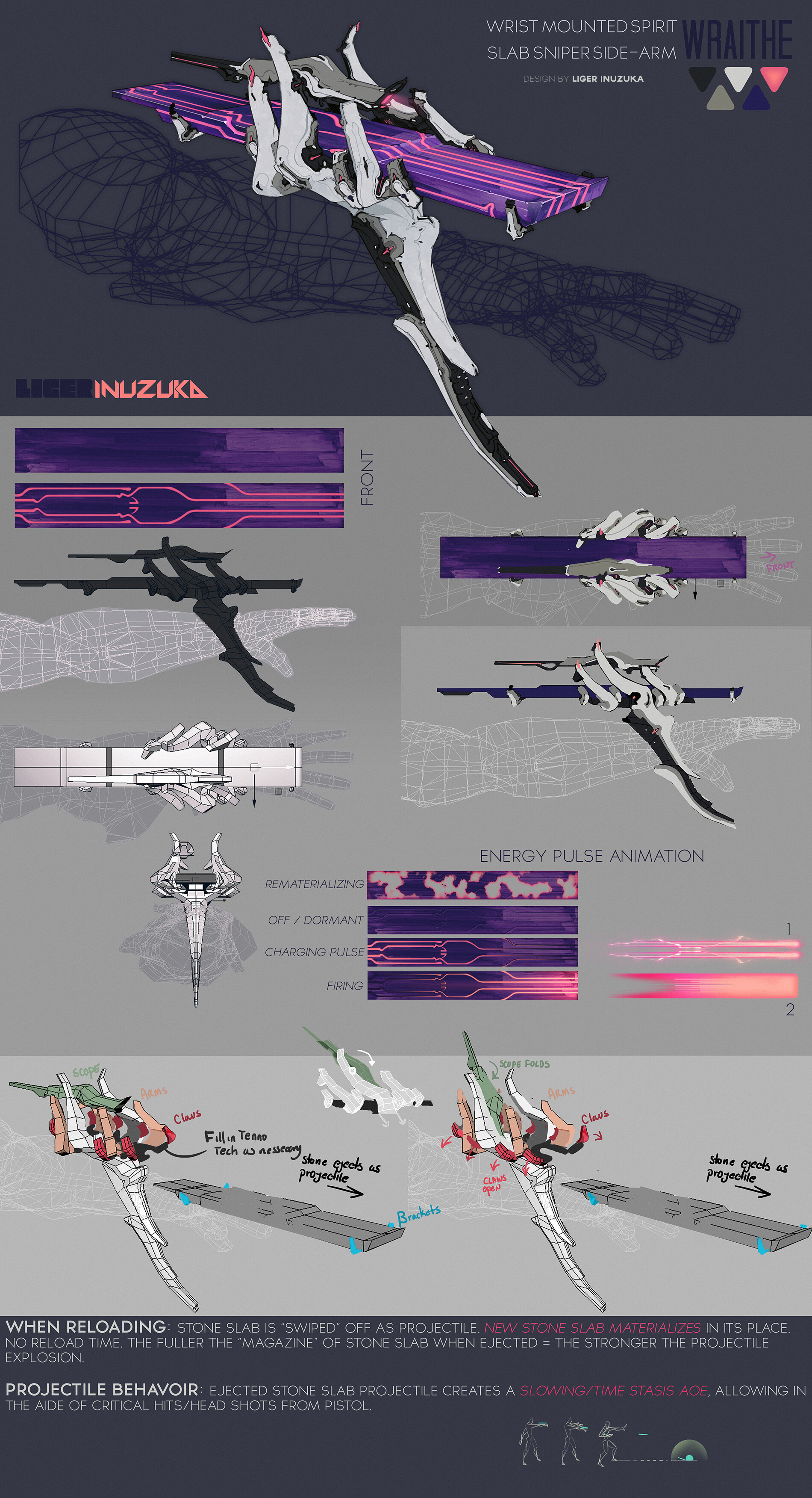 Wraithe's signiture Weapon